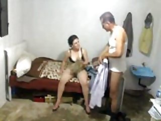 Egyptian guy fucks a friend wife hidden cam