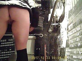 Hidden Cam In Bathroom Part 2