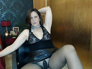 sexyvega in black pantyhose