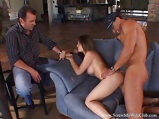 Chubby Wife Fucks A Stranger