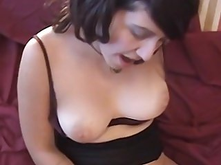 Hairy wife fucked in our first homemade porn