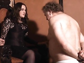 hot faceslapping mistress