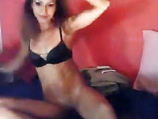 Arab Teen On Skype Masturbates For Me With A Dildo