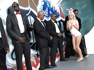 Bunny Jessie Volt Gets Her Mouth Destroyed By BBC