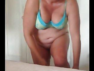 plump mature in hotel bedroom