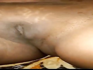 Horny Indian bhabhi self masterbet with a big cucumber