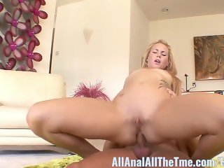 Tall Blonde Teen Summer Day Gets Ass Fucked for First Time!