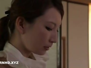 Unsatisfied Japanese Wife inviting different men to Fuck