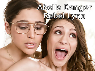 Fake lesbian actress tricking Abella Danger