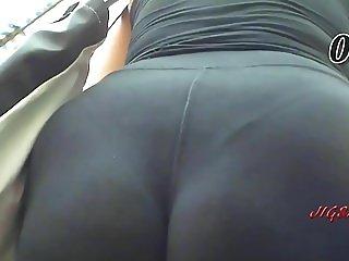 Candid Voyeur Booty Bunda Butt Rabuda Pawg Culon Ass 021-030