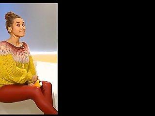 Annemarie Carpendale leather pants