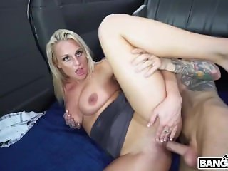 Blonde Paris Knight Fucked In The Bus