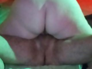 BBW french large butt  ride