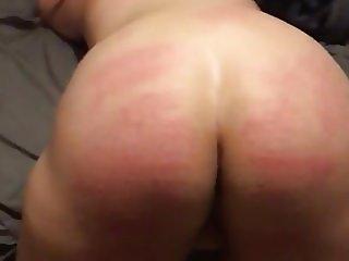 Beating slut Dahlias ass