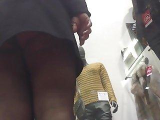 upskirt stocking 218