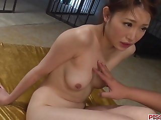 Raw Japanese group fucking along Airi Mizusawa