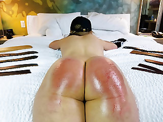 The Sting From 8 Straps - (Spanking)