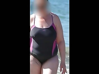 bbw milf swimsuit