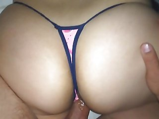 WATERMELON THONG!!  sister'S BIG ASS!!