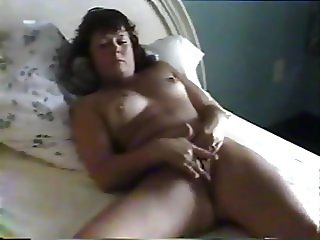 HUSBAND WATCHING WIFE MASTURBATE