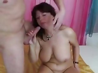 Mature woman and young man - 75