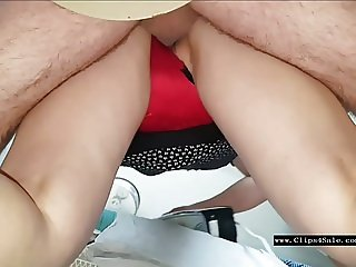 Kutwijf Red Satin Panty 3 Creampies B4 Lunch.