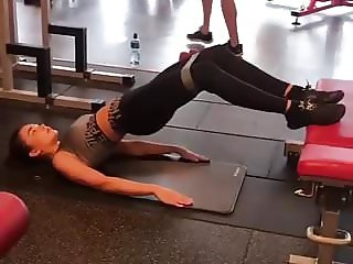 Sexy Amy Jackson Working Out