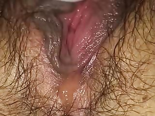 Watch hairy pussy