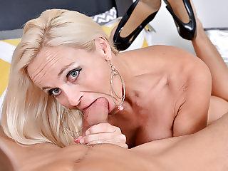 Dani Dare's mature pussy wants a hard cock