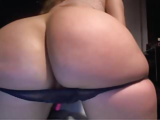 Small Panties holding her delicious Round Ass