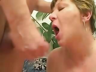 Big Tit cum shot.