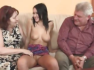 old couple get lucky fucking