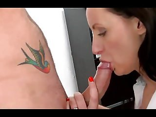 My Boss Hate My Tatoo But Love My Cock