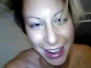 Wife Sucks Dick and Gives a Rimjob