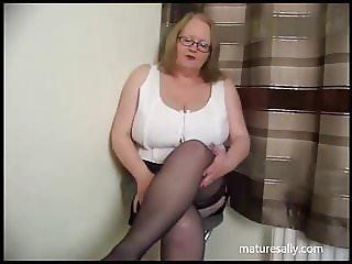 Very short pvc skirt