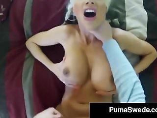 Swedish School Girl Puma Swede Filmed Secretly Having Sex!