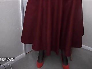 My new skirt and petticoat