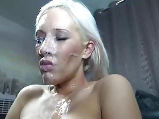 Blonde Bukkake Bitch - PolishViking