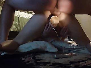 Ex-wife in Hidden cam DP action