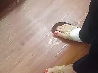 Big granny feet