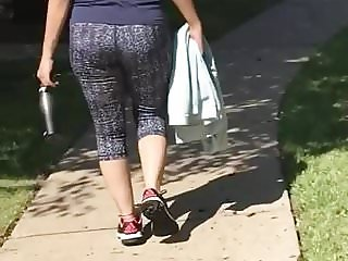 Desi Ass Walking
